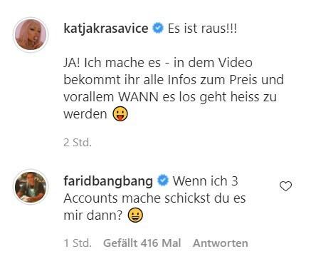 Farid möchte ein Video von Katja