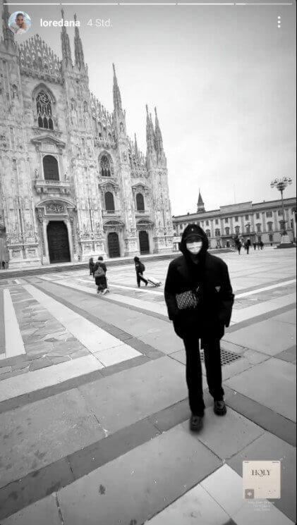 Loredana in Italien