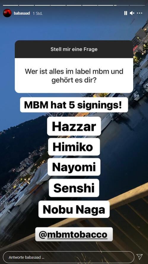 Baba Saad via Instagram Story